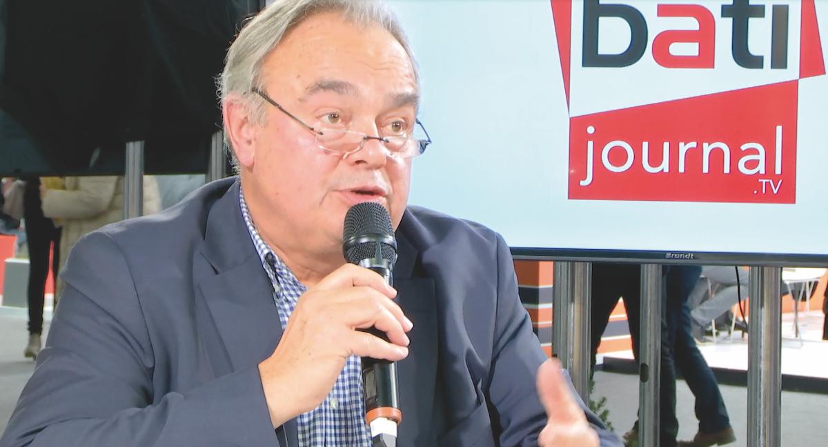 Jean-PierreBosquet, président du Syndicat des architectes contractants